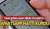 Pazarcı whatsapp sipariş hattı kurdu