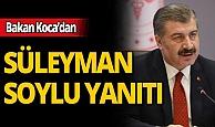 """Sağlık Bakanı Fahrettin Koca """"Süleyman Soylu ile tartıştınız mı?"""" sorusuna yanıt verdi"""