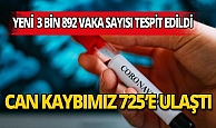 """Sağlık Bakanı Koca: """"Son 24 saatte hayatını kaybedenlerin sayısı 725 oldu"""""""