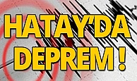 Son dakika: Hatay'da deprem!