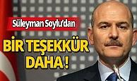 Süleyman Soylu Erdoğan dışında bir isme daha teşekkür etti!