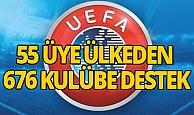 UEFA'dan kulüplere korona desteği
