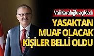 Vali Karaloğlu açıkladı: Antalya'da sokağa çıkma yasağı üretimi engellemeyecek