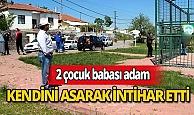 2 çocuk babası adam basketbol sahasına kendini asarak intihar etti