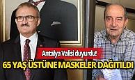 Antalya'da 21 bin 65 yaş üstünün geri sayımı başladı
