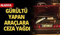 Antalya'da 22 araç trafikten men edildi!