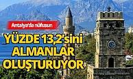 Antalya'da Almanya doğumlular ilk sırada yer aldı