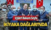 Bakan Süleyman Soylu Mehmetçikle iftar yaptı!