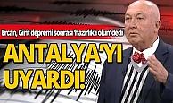 Deprem uzmanı Girit depremi sonrası 5 ili uyardı: İçlerinde Antalya'da var!
