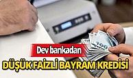 Dev banka yüzde 0,96'dan başlayan oranlarla bayram kredisi verecek