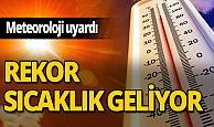 Meteoroloji'den Antalya için sıcaklık uyarısı!