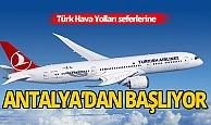 THY 1 Haziran'dan itibaren Antalya'da tarifeli seferlere başlayacak