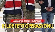 8 ilde FETÖ operasyonu: 25 gözaltı