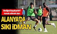 Alanyaspor'da Başakşehir maçı hazırlıkları sürdürüyor