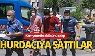 Antalya'da akü hırsızlığı!