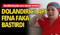 Antalya'da kendilerini polis ve savcı olarak tanıtan dolandırıcılara operasyon