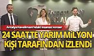 Antalya Havalimanı'ndaki insansız konser yarım milyon kişiyle buluştu