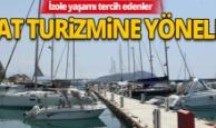 Antalya'da yat turizmine yoğun talep