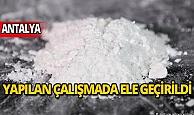 Antalya'da bin 180 gram kokain ele geçirildi, 3 şüpheli tutuklandı