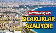 Antalyalılar dikkat: Sıcaklıklar düşüyor!
