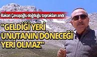Bakan Çavuşoğlu'ndan, 'Ata Yurdum Söbüçimen' paylaşımı