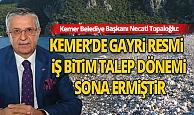 Başkan Necati Topaloğlu: Kemer'de tabuları yıktık!