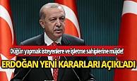 Cumhurbaşkanı Erdoğan işletme sahiplerine ve düğün yapmak isteyenlere müjdeyi verdi!