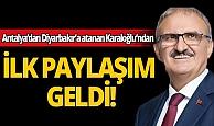 Diyarbakır'a atanan Vali Karaloğlu'ndan ilk paylaşım!