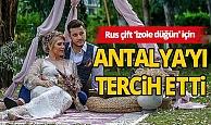 Düğün için yurt dışından Antalya'ya talep yağıyor