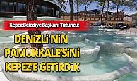 Dünyaca ünlü Pamukkale travertenlerinin benzeri Antalya'da