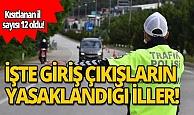 HDP'nin yürüyüş çağrısı sonrası 12 ile giriş-çıkışlar yasaklandı