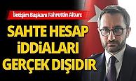 İletişim Başkanı Fahrettin Altun'dan Twitter açıklaması