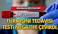 Kovid-19 hastasına Türk Işın Tedavisi Yöntemi uygulandı