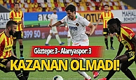 Süper Lig: Göztepe: 3 - Alanyaspor: 3
