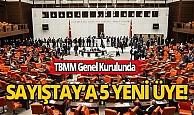 TBMM Genel Kurulunda Sayıştaya 5 yeni üye seçildi