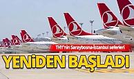 THY'nin Saraybosna-İstanbul seferleri 3 aylık aranın ardından yeniden başladı