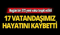 Türkiye'de son 24 saatte 17 kişi hayatını kaybetti