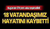 Türkiye'de son 24 saatte 18 kişi hayatını kaybetti