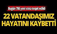 Türkiye'de son 24 saatte 22 kişi hayatını kaybetti