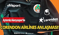 Alanyaspor, Corendon ile reklam anlaşması yaptı