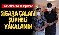 Antalya Alanya Haber: Sigara hırsızı takip sonucu yakalandı
