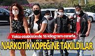 Antalya Haber: Yolcu otobüsünde uyuşturucu ele geçirildi