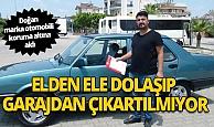 Antalya Serik Haberi: 26 yıllık otomobili gözleri gibi koruyorlar!