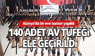 Antalya Son Dakika Haberi: Evden cephanelik çıktı