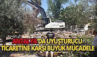 Antalya'da uyuşturucu ticaretine bir ayda 272 operasyon