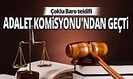 Barolara ilişkin kanun teklifi kabul edildi