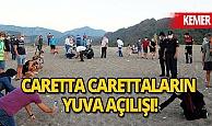 Kemer haberi: Çıralı sahilinde carettaların yuva açılışı yapıldı