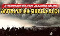 Türkiye'de en fazla görülen meteorolojik afet 'şiddetli yağış ve sel' oldu