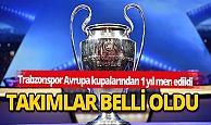 Spor haber: Türkiye'den, Avrupa kupalarına katılacak takımlar belli oldu