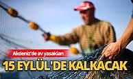 Akdeniz'de av yasakları 15 Eylül'de kalkacak